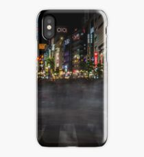 Tokyo Ghosts - Shibuya Crossing Long Exposure iPhone Case/Skin