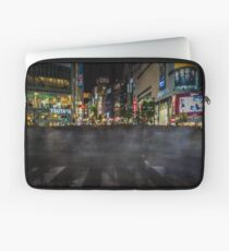 Tokyo Ghosts - Shibuya Crossing Long Exposure Laptop Sleeve