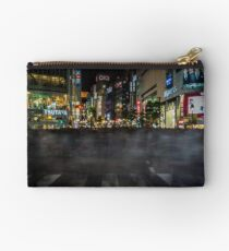 Tokyo Ghosts - Shibuya Crossing Long Exposure Studio Pouch