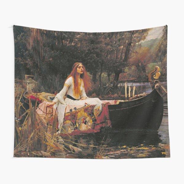 John William Waterhouse Lady Of Shalott Tapestry
