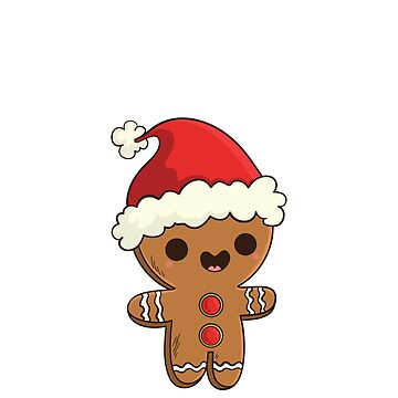 Gingerbread Man Bite Me Humorous Christmas Holiday White by grouppixel