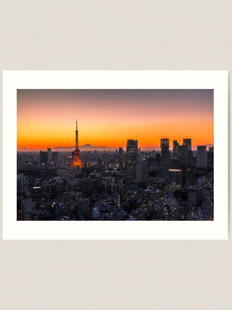 Alternate view of TOKYO 01 Art Print