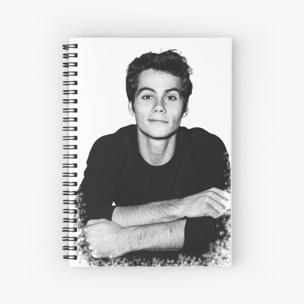 Dylan O'Brien Spiral Notebook