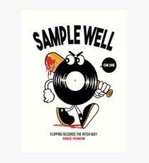 Lámina artística Beatmakers Vinyl Record