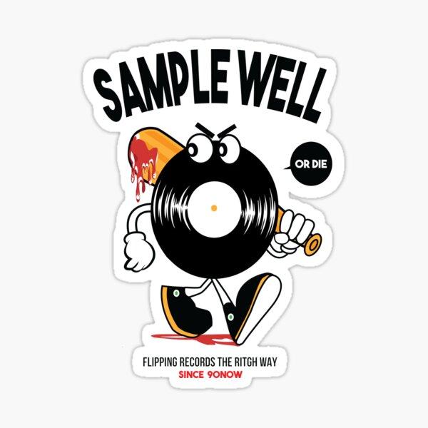 Raw Vinyl Record  Sticker