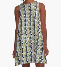 Chrysanthemum In Sunlight A-Line Dress