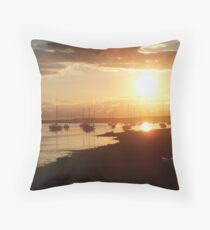 Findhorn Bay Throw Pillow