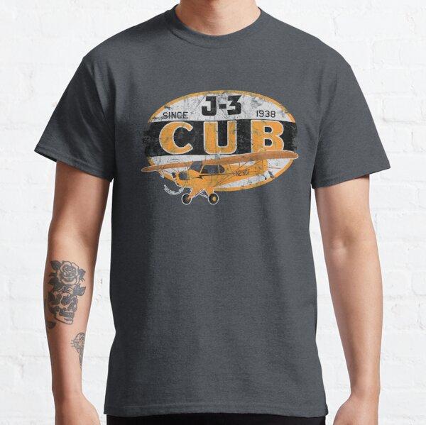 "J-3 Cub ""Since 1938"" Classic Airplane Vintage Design Classic T-Shirt"