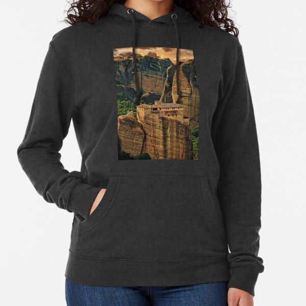 Greece. Meteora. The Holy Monastery of Rousanou/St. Barbara. Lightweight Hoodie