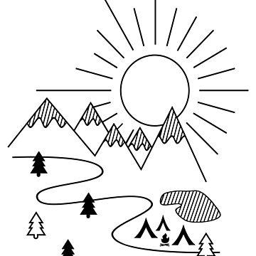Camping by Pferdefreundin