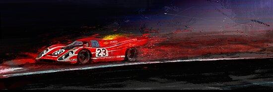 M MCFLY RACING von Alan Greene