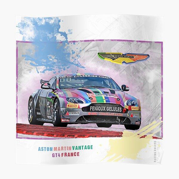 Aston Martin Vantge GT4 Poster