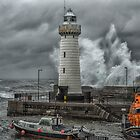 Donaghadee Lighthouse - Stormy Days by TomSmithPhotos
