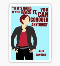 Alex Danvers - Conquer Sticker