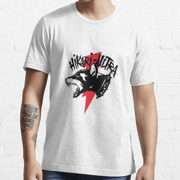 Zillakami x Sosmula Hikari Ultra Logo (Morgue de la ciudad) [RED BOLT] Camiseta esencial