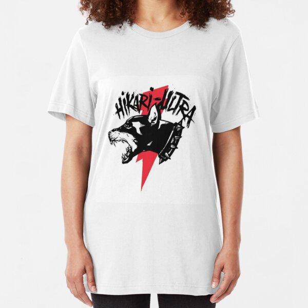 Zillakami x Sosmula Hikari Ultra Logo (City Morgue) [RED BOLT] Slim Fit T-Shirt