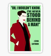 Lena Luthor - Strength Sticker