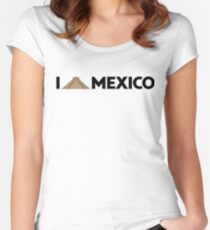 I love Mexico - Chichen Women's Fitted Scoop T-Shirt