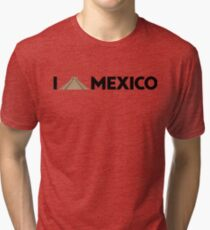 I love Mexico - Chichen Tri-blend T-Shirt