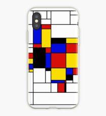 Texas du Mondrian iPhone Case
