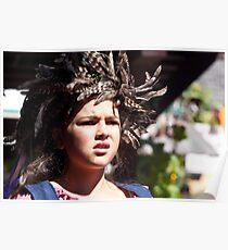 Renaissance Faire Feathers Poster