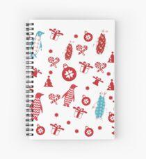❄ Penguin Pattern  Design❄ Spiral Notebook