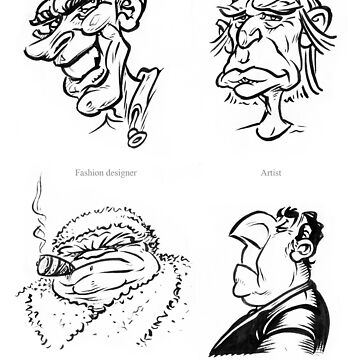 Caricature Sketches 6 by newfeenix