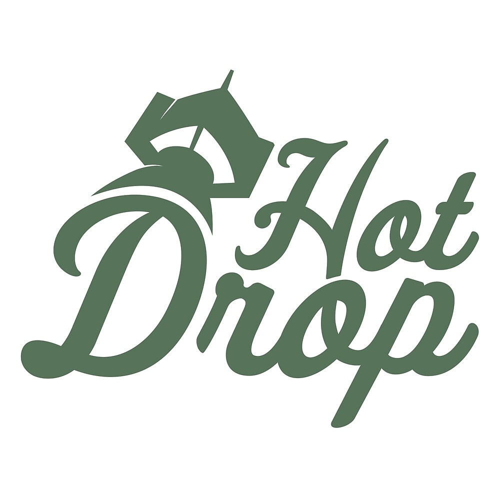 HOTDROP Text Logo Collection by hotdroppodcast