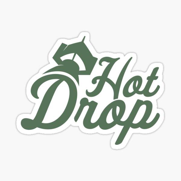 Colección de logos de texto HOTDROP Pegatina
