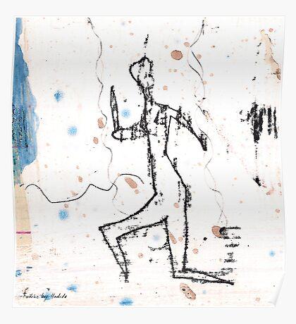 dancer - the run Poster