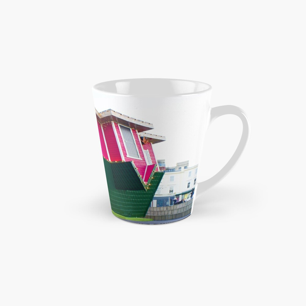 Upside down house in Bournemouth Mug