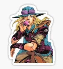 Gyro Zeppeli Sticker