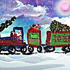Santa Express  by WhiteDove Studio kj gordon