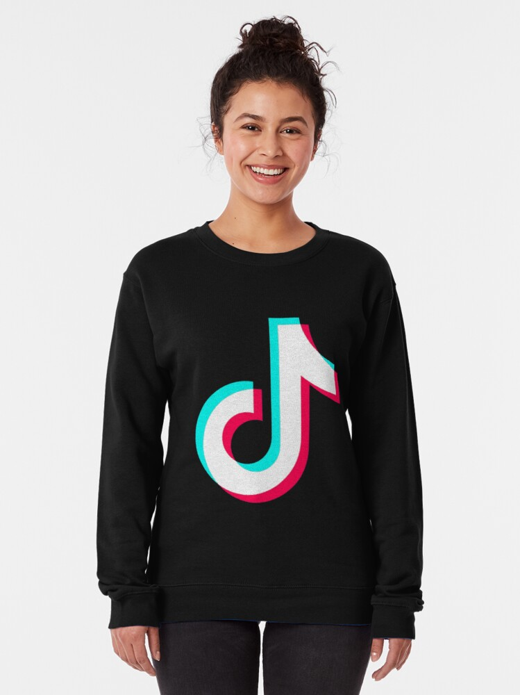 Alternate view of Tiktok  Pullover Sweatshirt