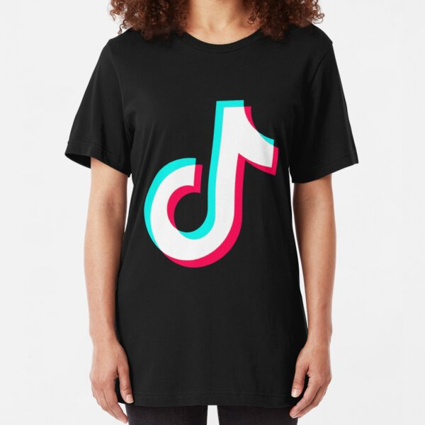 Tiktok  Slim Fit T-Shirt