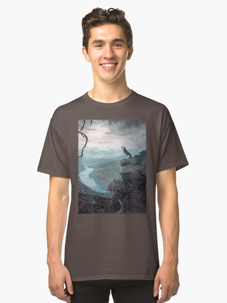 A Chilling Cry   Classic T-Shirt Front