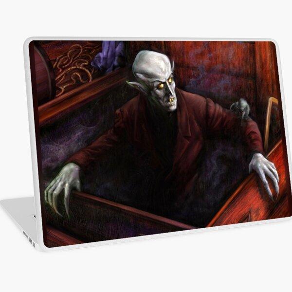 Dracula Nosferatu Vampire Laptop Skin