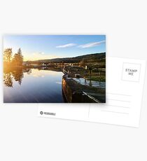 Caledonian Canal in Winter Postcards