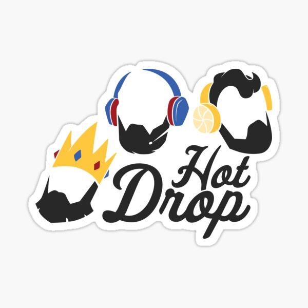 Colección de logos de HOTDROP Host Heads Pegatina