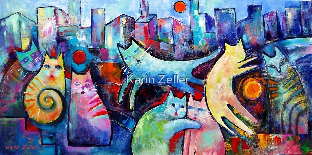 Citicats  by Karin Zeller