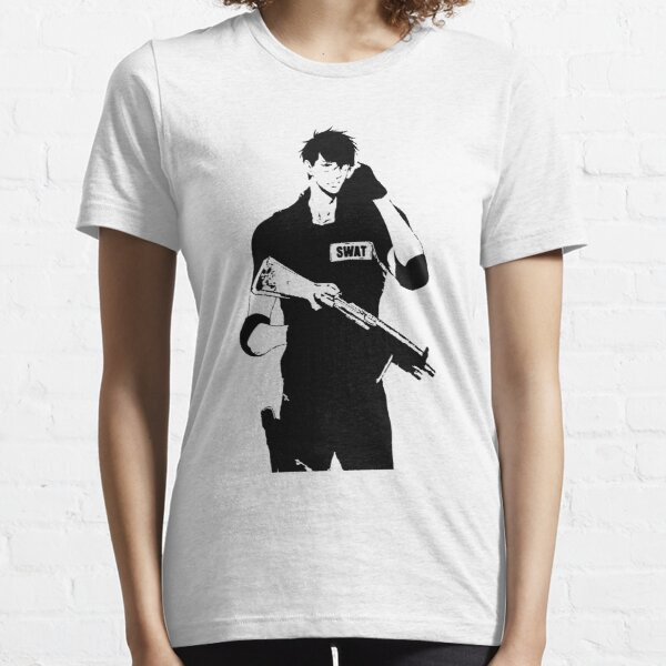 Anime SWAT Guy Handsome Essential T-Shirt