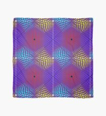 Mixed Nets Abstract Painting Scarf