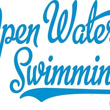 Open water swimming by Vectorqueen