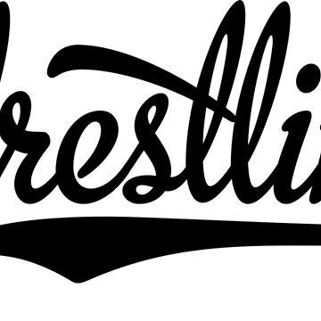 Wrestling by Vectorqueen