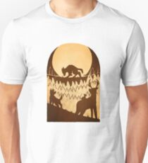 Full Moon in the Forbidden Forest Unisex T-Shirt