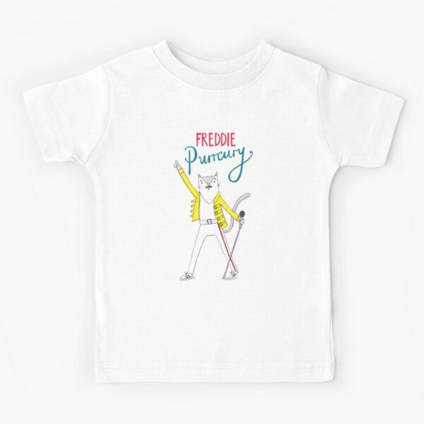 Freddie Purrcury Kids T-Shirt