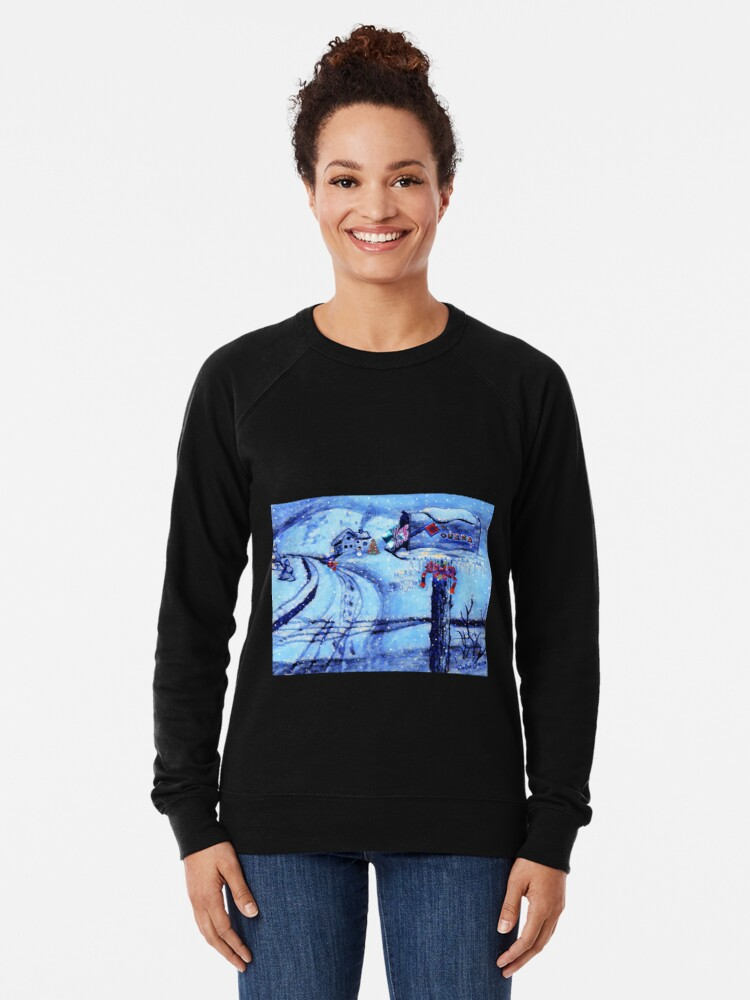 Alternate view of HOME FOR THE HOLIDAYS Lightweight Sweatshirt