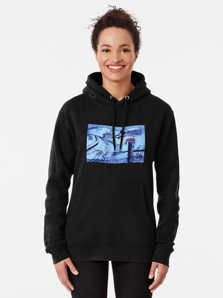 Alternate view of HOME FOR THE HOLIDAYS Pullover Hoodie