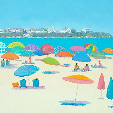Hampton Beach and Boars Head by MatsonArtDesign