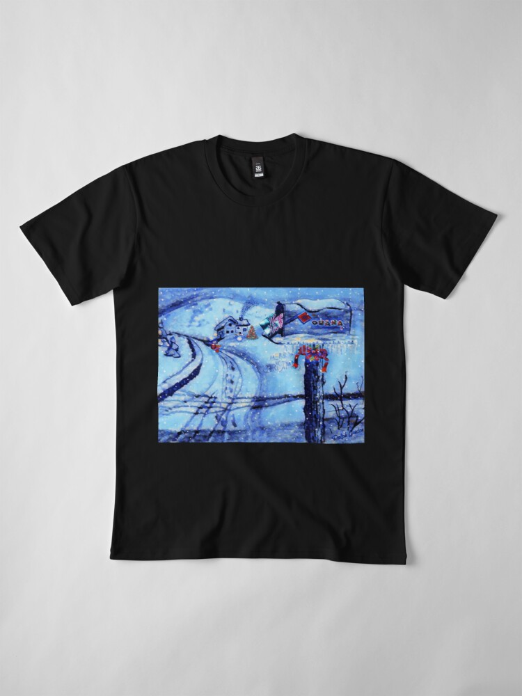 Alternate view of HOME FOR THE HOLIDAYS Premium T-Shirt